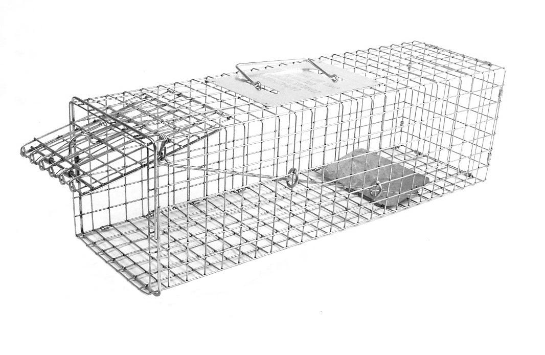Tomahawk 105 - Rigid Trap - Extra Long Skunk/Opossum Size 0000105